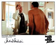 Michael Medwin Autograph Photo - Never Say Never Again